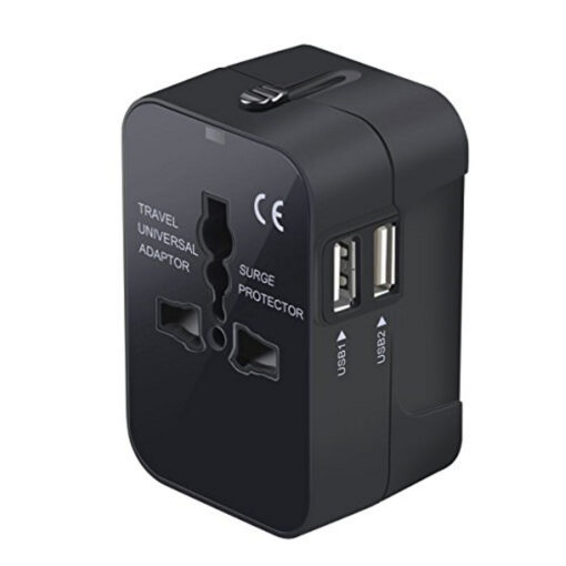 Travel Adapter Worldwide All in One Universal Travel Adaptor Wall AC Power Plug Adapter