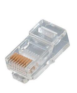 RJ45 Connectors For CAT6 Cable - 50 pieces