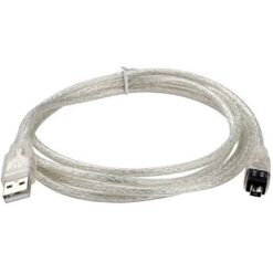 USB To IEEE 1394 4pin FireWire DV Cable – Insten 1.8 Meter 02