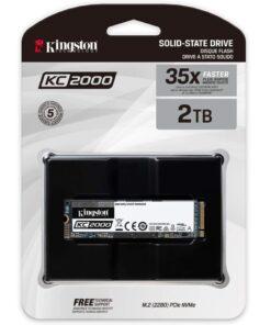 Kingston 2TB KC2000 Nvme PCIe SSD