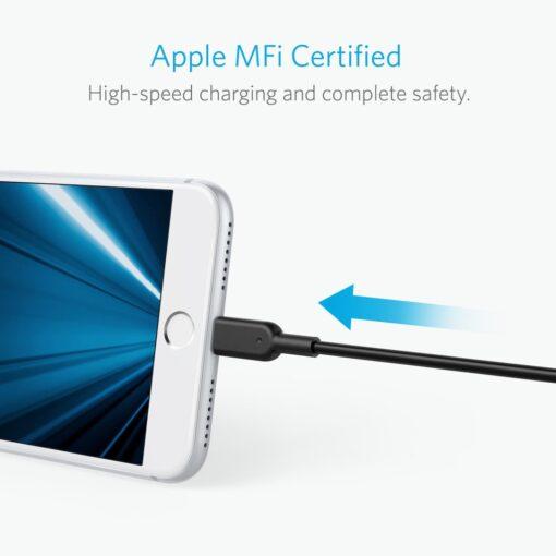 Anker PowerLine Lightning Cable 1.8M Black - 02