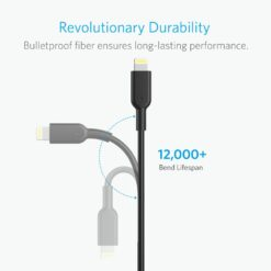 Anker PowerLine Lightning Cable 1.8M Black - 03