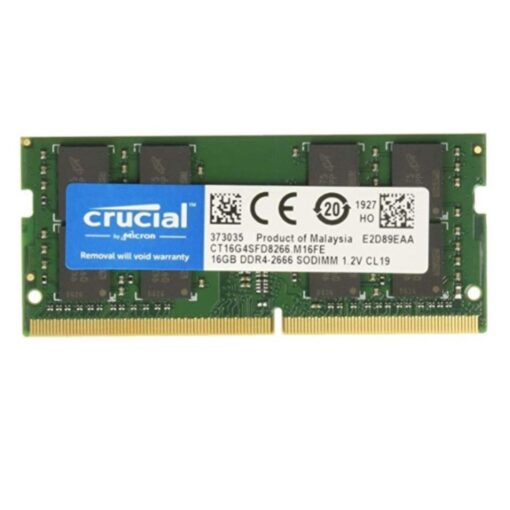 Crucial 16GB RAM DDR4 2666MHz PC4-21300 Laptop