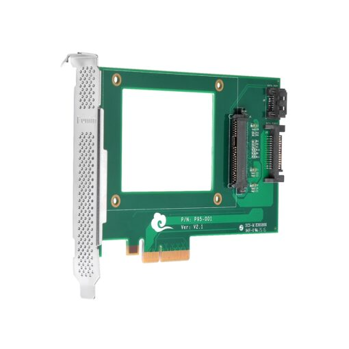 Funtin PCIe NVMe SSD Adapter with U.2 - SFF-8639 - Interface for 2.5 NVMe SSD 01