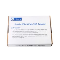 Funtin PCIe NVMe SSD Adapter with U.2 - SFF-8639 - Interface for 2.5 NVMe SSD 09