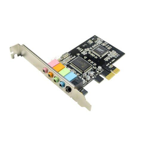 IOCRESR 5.1 Channel PCI-e x1 Sound Card Asmedia 1083 chipset 01