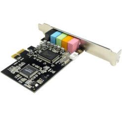 IOCRESR 5.1 Channel PCI-e x1 Sound Card Asmedia 1083 chipset 04