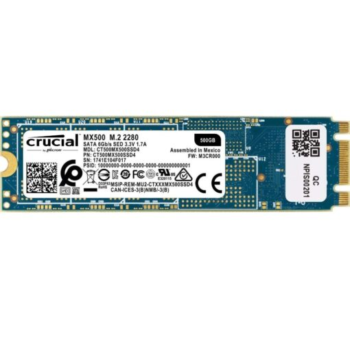 Crucial MX500 500GB 3D NAND SATA M.2 2280 Internal SSD CT500MX500SSD4 02
