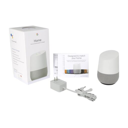 Google Home Assistant Speaker White