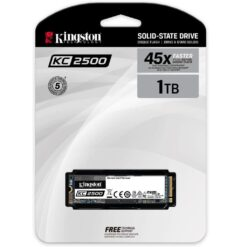 Kingston 1TB SSD KC2500 M.2 2280 NVMe