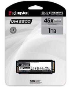 Kingston 1TB SSD KC2500 M.2 2280 NVMe