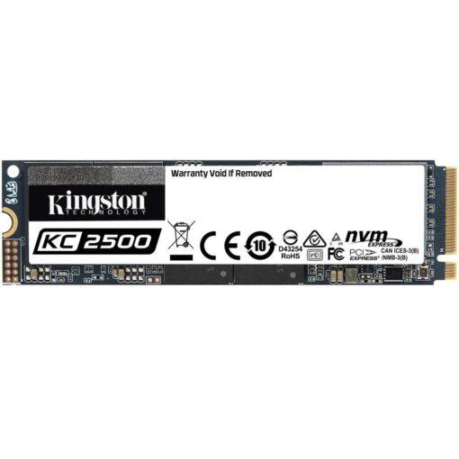 Kingston 1TB SSD KC2500 M.2 2280 NVMe 03