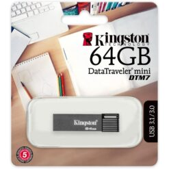 Kingston 64GB DataTraveler Mini USB Flash DTM7