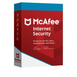 Mcafee Internet Security 1 PC 1 Year Subscription