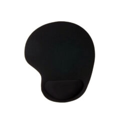 Mouse Pad With Wrist Support - Black