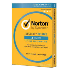 Norton Antivirus Deluxe 3 Devices 1 Year Subscription