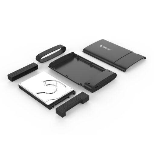 Orico 2.5 Type C HDD Case 2538C3-BK-BP 02