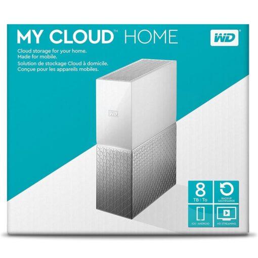 WD 8TB My Cloud Home Personal Cloud Storage WDBVXC0080HWT-EESN