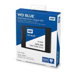 WD Blue 3D NAND 500GB Internal SSD