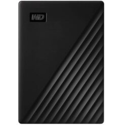 WD My Passport 5TB Portable Hard Drive USB 3.2 WDBPKJ0050BBK-WESN Black