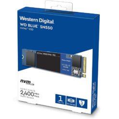 Western Digital 1TB WD Blue SN550 NVMe Internal SSD - WDS100T2B0C