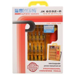 JK 6032-A 32 in 1 Professional Hardware Screwdriver Tool Kit