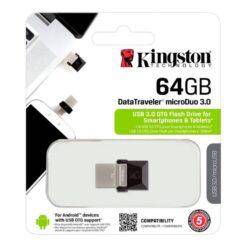 Kingston 64GB DataTraveler MicroDuo 3.0