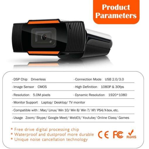 Web Camera Full HD 1080p 05