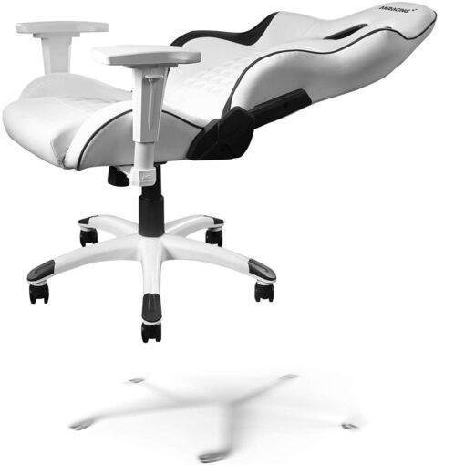 AKRacing California Gaming Chair Laguna - White incline
