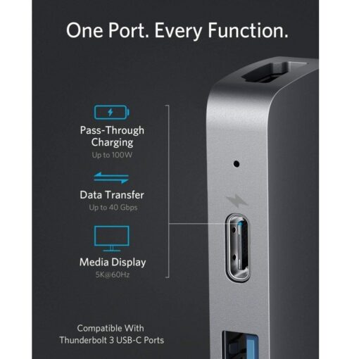 Anker PowerExpand Direct 7-In-2 USB Type-C PD Media Hub 04