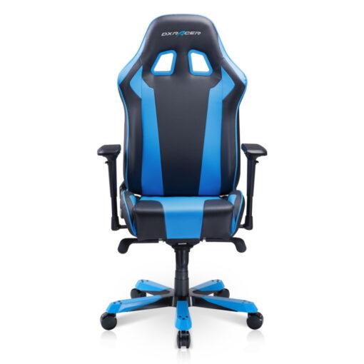 DXRacer King Series Gaming Chair - Black Blue 02
