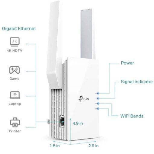 TP-Link WiFi 6 Range Extender image