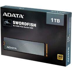 ADATA 1TB Swordfish M.2 2280 PCIe NVMe Gen3x4 SSD 3D NAND
