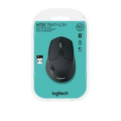 Logitech M720 Triathlon Multi Device Wireless Bluetooth Mouse