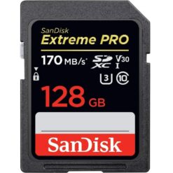 Sandisk 128GB Extreme Pro SD Card