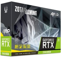 ZOTAC GAMING GeForce RTX 2060 SUPER AMP 8GB GDDR6 256-bit 14Gbps Gaming Graphics Card ZT-T20610D-10P