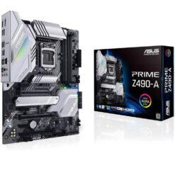 Asus Prime Z490-A LGA 1200 Intel 10th Gen ATX Motherboard