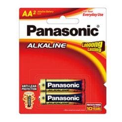 Panasonic AA Alkaline Battery 2 Pack