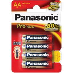 Panasonic AA Battery 4 Pack