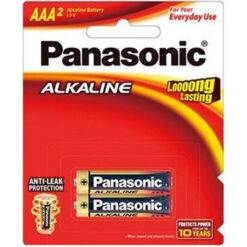 Panasonic AAA Alkaline Battery 2 Pack