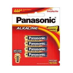 Panasonic AAA Alkaline Battery 4 Pack