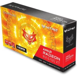 Sapphire Nitro+ AMD Radeon RX 6700 XT Gaming Graphics Card with 12GB GDDR6 - AMD RDNA 2
