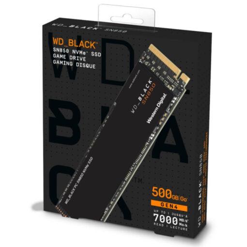 WD Black 500GB SN850 NVMe Internal Gaming SSD PCIe 4.0 Solid State Drive
