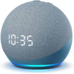 Amazon Echo Dot 4th Gen Smart Speaker With Alexa - Twilight Blue