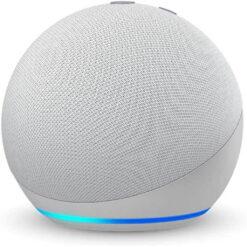 Amazon Echo Dot 4th Gen Smart Speaker With Alexa Glacier White