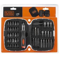 Black & Decker A7039 Screwdriver Set 45 Piece