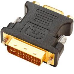 DVI Male To VGA Female Adapter DVI-I 24+5 Port Converter