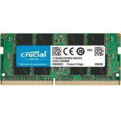Crucial 16GB RAM DDR4 3200Mhz PC4-25600 Laptop Memory