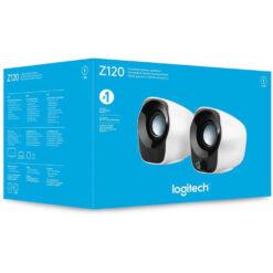 Logitech Stereo Speakers Z120 USB Powered
