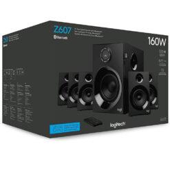 Logitech Z607 160W Wireless Bluetooth 5.1 Surround Speaker System With Subwoofer